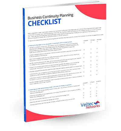 Business Continuity Planning Checklist