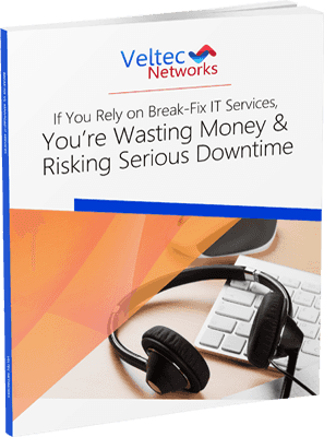 If You Rely On Break-Fix It Services, You're Wasting Money & Risking Serious Downtime.