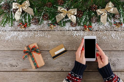 Christmas iPhone X