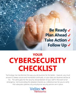 Your Cybersecurity Checklist