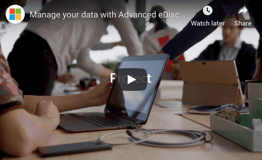 Microsoft Office 365 eDiscovery