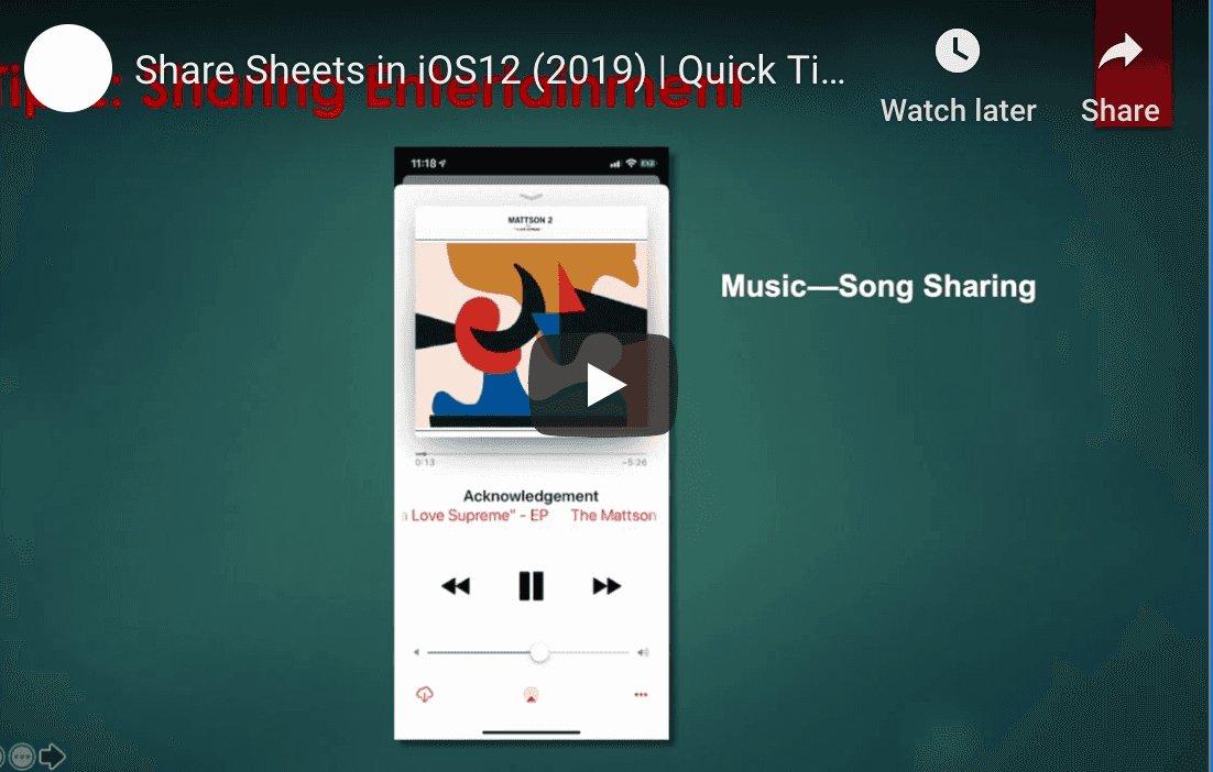 IOS 12 Quick Tips